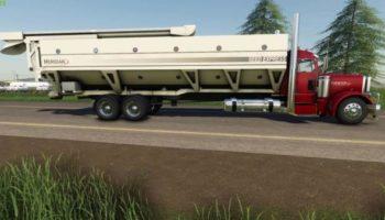 Мод грузовик Peterbilt Tender Truck v2.0 для Farming Simulator 2015
