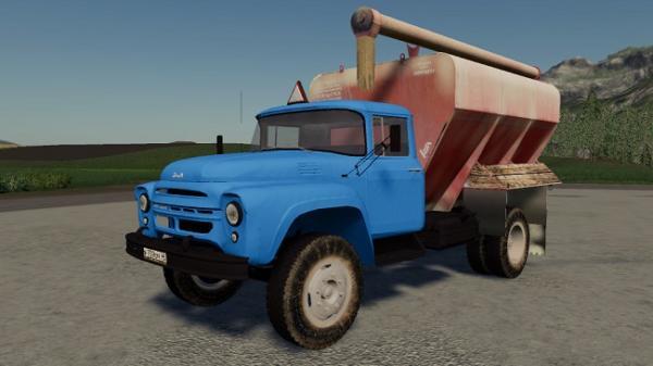 Мод грузовик ЗиЛ-130 ЗСК v1.3.0.0 для Farming Simulator 2015