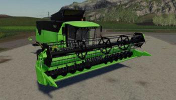Мод комбайн Deutz Fahr HTS6095 v1.0.0.1 для Farming Simulator 2015