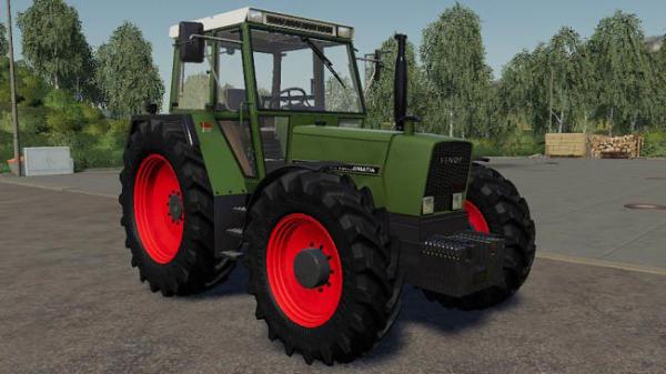 Мод трактор Fendt Farmer 307 – 309 v1.0 для Farming Simulator 2015