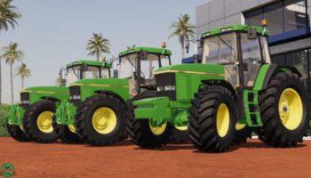 Мод трактор John Deere 7010 Series v1.2.0.0 для Farming Simulator 2015