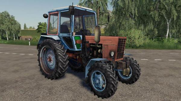Мод трактор МТЗ 100 v1.0.0.0 для Farming Simulator 2015