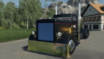 Мод тягач Custom Peterbilt 379 v1.0 для Farming Simulator 2015