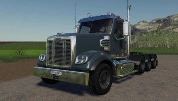 Мод тягач FreightLiner 122SD v1.0 для Farming Simulator 2015