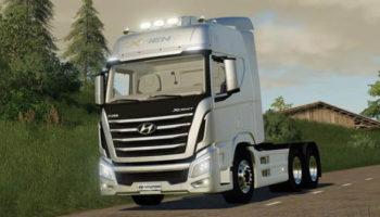 Мод тягач Hyundai Xcient Nonperform v1.0 для Farming Simulator 2015