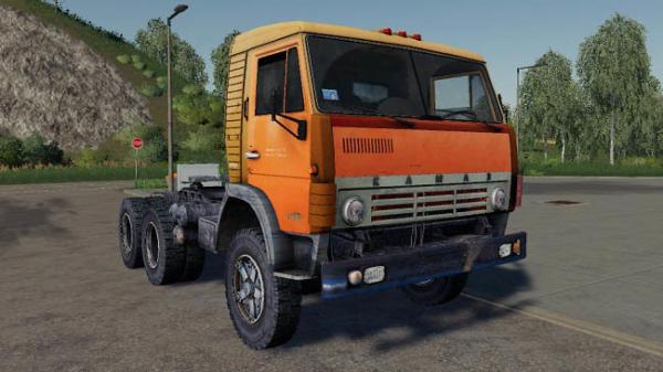 Мод тягач Камаз 5410 Сталкер v1.0 для Farming Simulator 2015