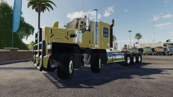 Мод тягач Kenworth C500 v1.2 для Farming Simulator 2015