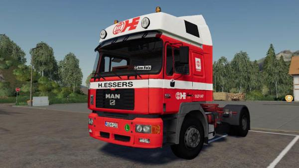 Мод тягач MAN F2000 19.414 v1.0 для Farming Simulator 2015