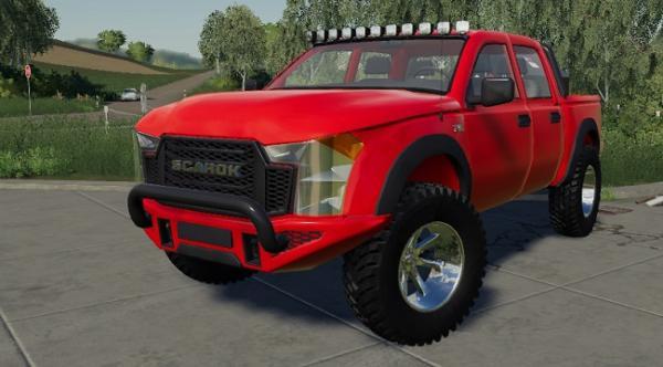Мод внедорожник Scarok The Car v1.0.1.0 для Farming Simulator 2015