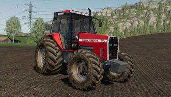 Мод ПАК Massey Ferguson 660 pack v1.0.0.0 для Farming Simulator 2015
