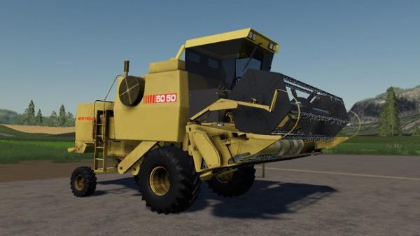 Мод ПАК New Holland 50505 + Platforms для Farming Simulator 2015