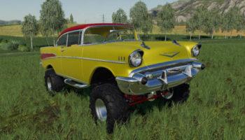 Мод авто 57 Chevy Mullet v1.0 для Farming Simulator 2015
