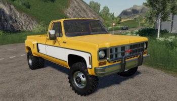 Мод авто Chevy 79 Singlecab DRW v1.0 для Farming Simulator 2015
