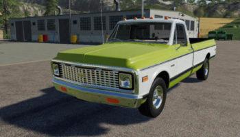 Мод авто Chevy Silveradoo Edit v1.0 для Farming Simulator 2015