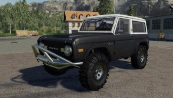 Мод авто Ford Bronco'66 Crawler v1.0 для Farming Simulator 2015