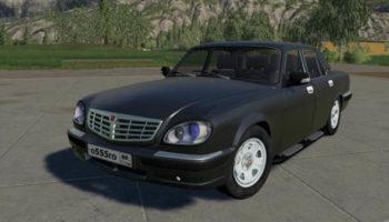 Мод авто Газ 31105 Волга v1.0 для Farming Simulator 2015