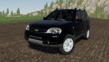 Мод авто NIVA Chevrolet v1.0.0.0 для Farming Simulator 2015