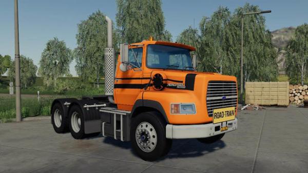 Мод грузовик Ford Aeromax l9000 v1.0 для Farming Simulator 2015