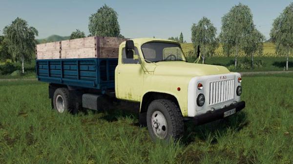 Мод грузовик ГАЗ 53 v1.0.0.0 для Farming Simulator 2015