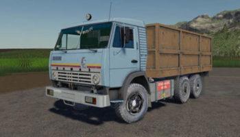 Мод грузовик Камаз-5320 v1.1.0.0 для Farming Simulator 2015