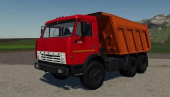 Мод грузовик Камаз 55111 v1.8 для Farming Simulator 2015