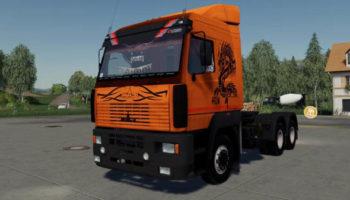 Мод грузовик МАЗ 5445 А8 и А9 v1.0.0.0 для Farming Simulator 2015