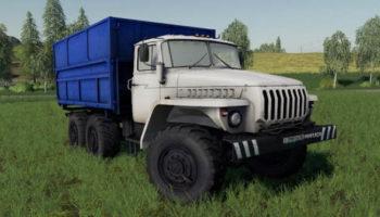 Мод грузовик Урал 4320 v1.0.0.0 для Farming Simulator 2015