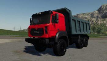 Мод грузовик Урал 6370к v1.0 для Farming Simulator 2015