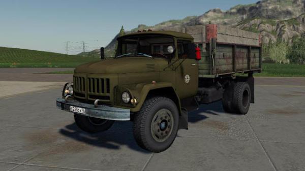 Мод грузовик ЗИЛ 130 v1.1.0.0 для Farming Simulator 2015