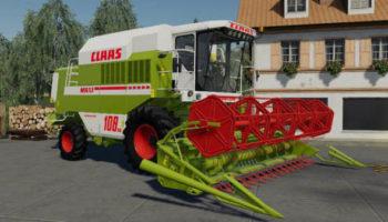 Мод комбайн Claas Dominator 108SL Maxi Special v1.1 для Farming Simulator 2015