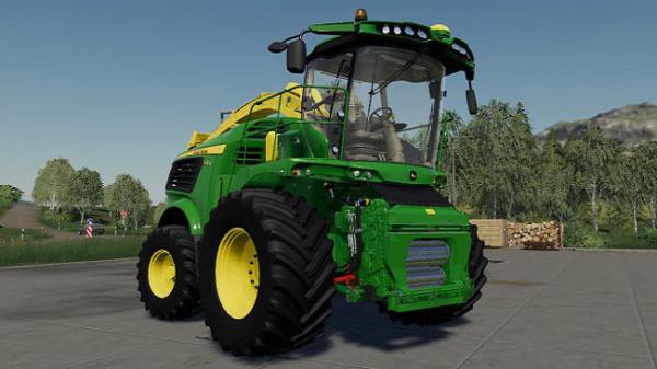Мод комбайн John Deere 9000 US Forage Harvestor v1.0 для Farming Simulator 2015