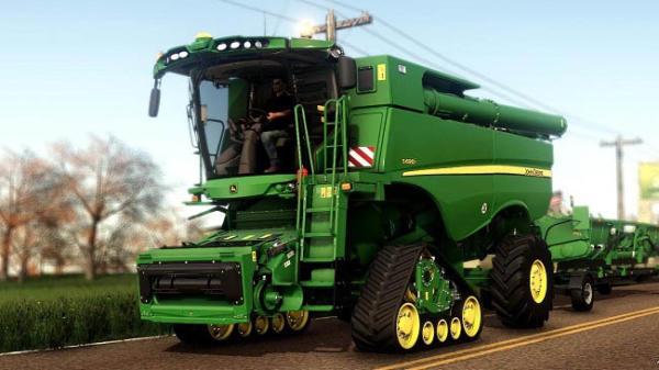 Мод комбайн John Deere S600i 2012-2017 Series official v1.1.0.0 для Farming Simulator 2015