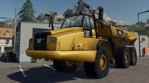 Мод самосвал Caterpillar 745C v0.1 для Farming Simulator 2015