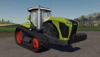 Мод трактор Claas Xerion with tracks v1.0 для Farming Simulator 2015