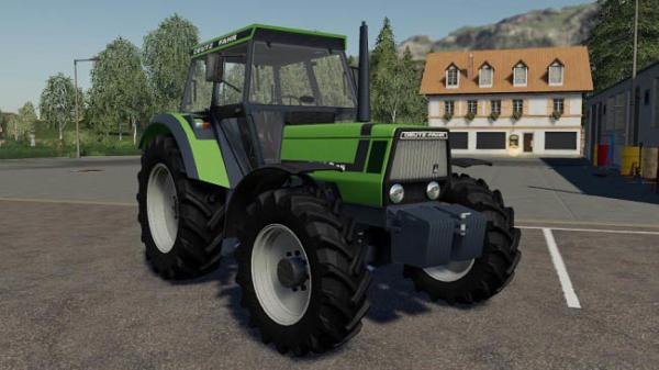 Мод трактор DEUTZ DX 6.05 v1.0.0.0 для Farming Simulator 2015