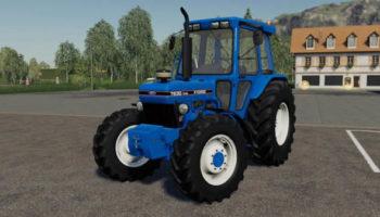 Мод трактор Ford 7630 v1.0.0.0 для Farming Simulator 2015