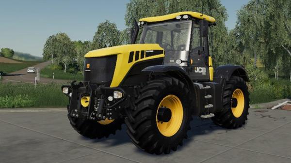 Мод трактор JCB Fastrac 3000 v1.2 для Farming Simulator 2015