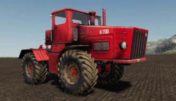 Мод трактор Кировец К-700 Ранний v1.0.0.1 для Farming Simulator 2015