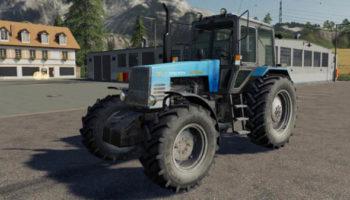 Мод трактор МТЗ-1221 Belarus v1.0.0.0 для Farming Simulator 2015
