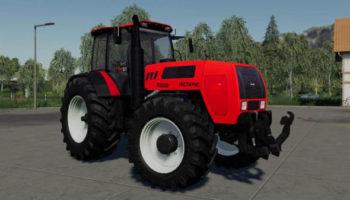 Мод трактор МТЗ-2522 v1.0.0 для Farming Simulator 2015