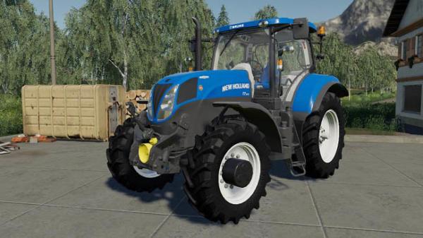 Мод трактор New Holland T7 200 Series v1.0 для Farming Simulator 2015