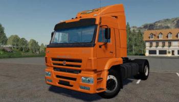 Мод тягач Камаз 5460 v1.0.1 для Farming Simulator 2015