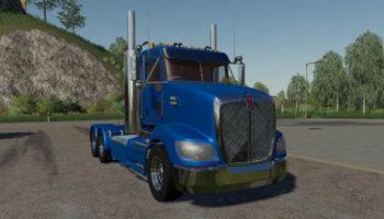 Мод тягач Kenworth T609 Daycab v1.0 для Farming Simulator 2015