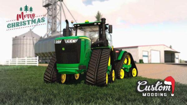 Мод 2019 John Deere 9RX North American and Europe v1.0.0.0 для Farming Simulator 2015