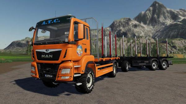 Мод ПАК ATC Timber Transportation Pack v1.0.1.0 для Farming Simulator 2015