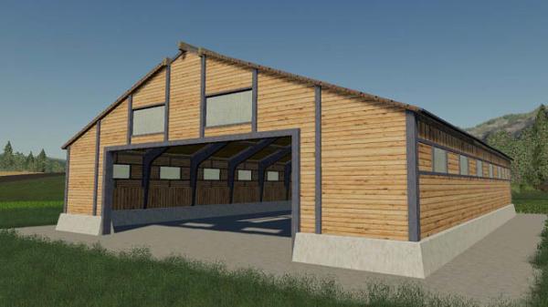 Мод ПАК FB Barn v1.1.0.0 для Farming Simulator 2015