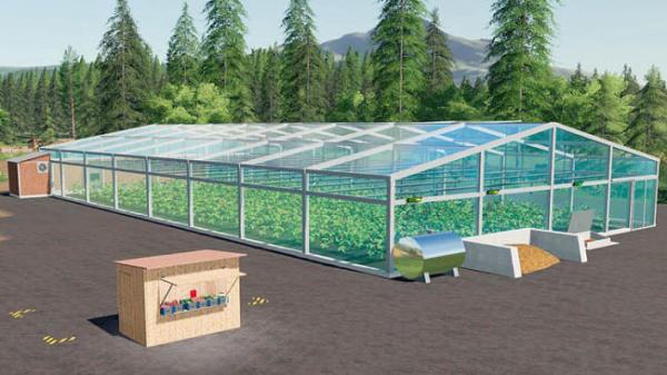 Мод ПАК HoT Greenhouses v1.0.3.0 для Farming Simulator 2015