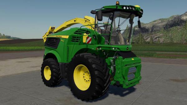 Мод ПАК John Deere 9000 Kemper Pack Farbwahl v1.0 для Farming Simulator 2015