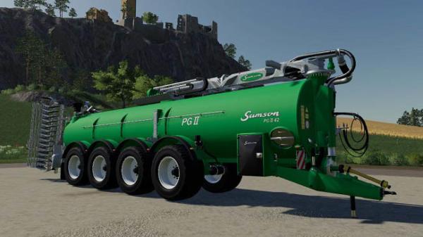 Мод ПАК Samson pgII42m Pack v1.0 для Farming Simulator 2015