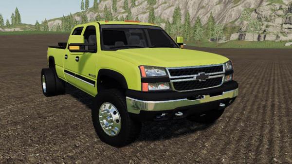 Мод авто 2006 Chevrolet 2500HD Duramax Diesel v1.0 для Farming Simulator 2015